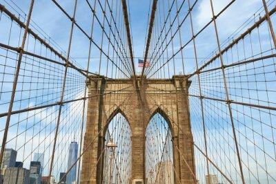 Bild Lower Manhattan Skyline-Blick von Brooklyn