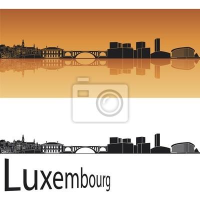 Bild Luxemburg Skyline