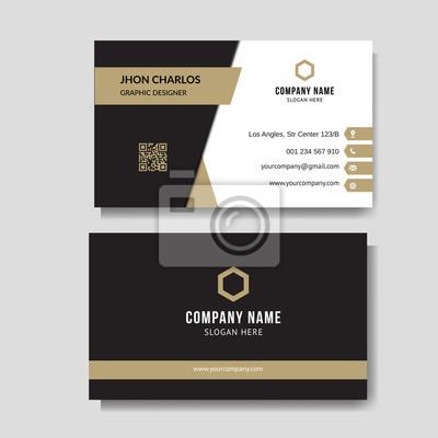 Bild Luxury and elegant business card