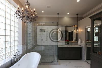 Bild Luxus Master Badezimmer   Landschaft