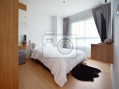 Bild Luxus Modern Schlafzimmer Innenraum Und Dekoration, Innenarchitektur