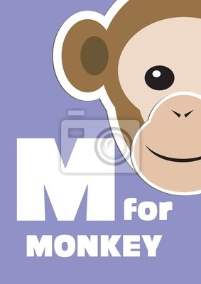 M für die Affen, ein Tier-Alphabet für Kinder