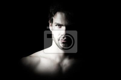 Bild Macho Mann Porträt