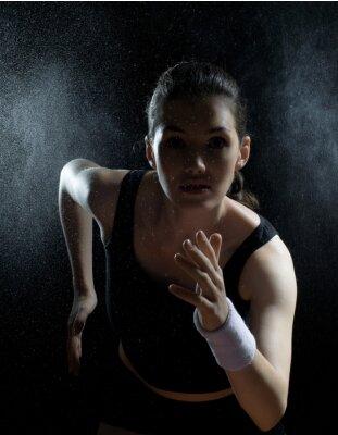 Bild Mädchen im Sport