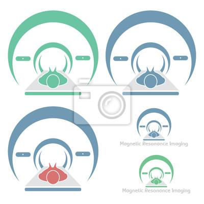 Magnetic Resonance Imaging - Vektor-Symbol