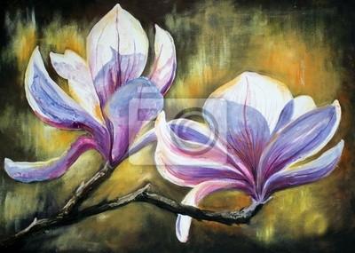 Magnolia flowers.My eigenes Kunstwerk.