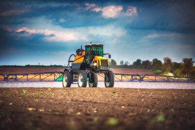 Bild Mähdrescher Landwirtschaft Maschine Ernte Golden reif Weizenfeld
