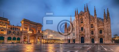 Bild Mailand, Italien: Piazza del Duomo, Kathedrale-Platz