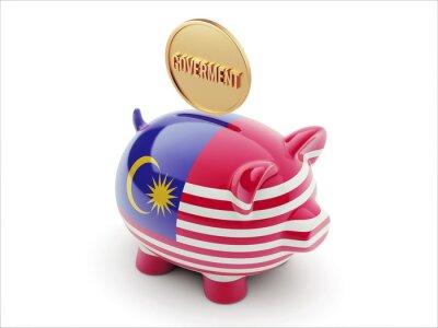 Malaysia-Piggy-Konzept