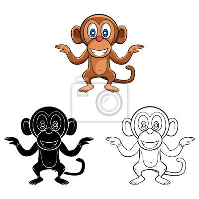 Tolle Affe Farbseite Bilder - Ideen färben - blsbooks.com
