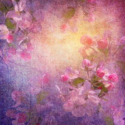 Bild Malstil Frühlingsblumenkunst