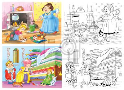 Malvorlagen Prinzessin Und Erbse My Blog Grimm Märchen Malvorlagen