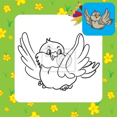 malvorlage vogel spatz | coloring and malvorlagan