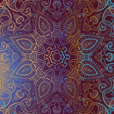 Bild Mandala. Indian dekorativen Muster.
