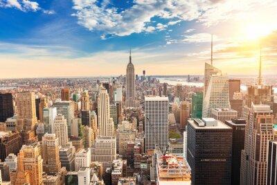 Bild Manhattan aerial view
