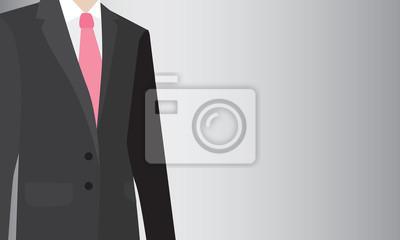 Mann im Anzug, Business-Hintergrund