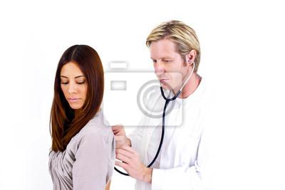 Bild Männlich Arzt und Patient