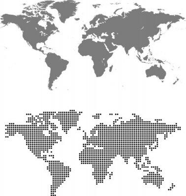 Bild map of world