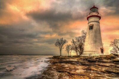 Bild Marblehead Leuchtturm HDR