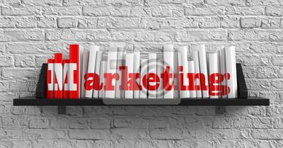 Marketing. Bildung-Konzept.