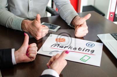 Bild Marketing-Konzept