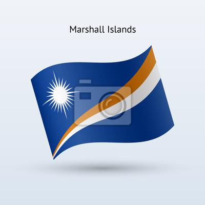 Marshall Islands Fahnenschwingen Form.