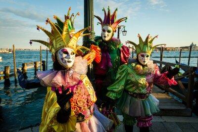 Bild Maschera Carnevale di Venezia