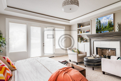 Bild Master Bedroom in New Luxury Home