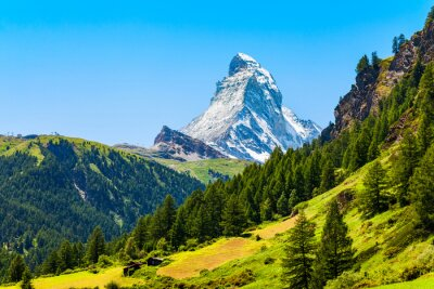 Bild Matterhorn mountain range in Switzerland