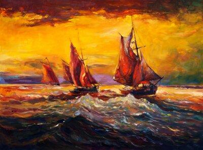 Bild Meer und Schiff