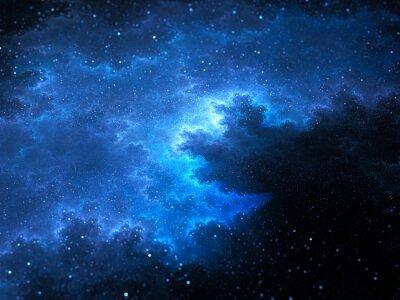 Bild Megical Raum Nebel Fraktals mit Sternen
