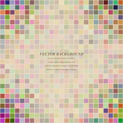 Mehrfarbige abstrakte quadratische Muster Hintergrund