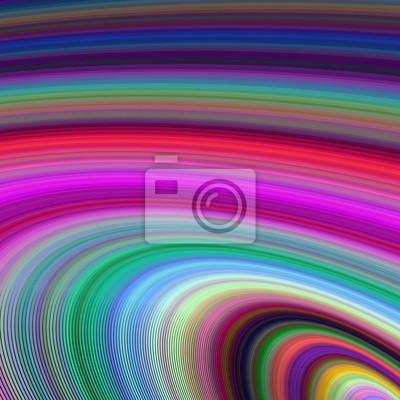 Mehrfarbige Ellipse fraktalen Hintergrund