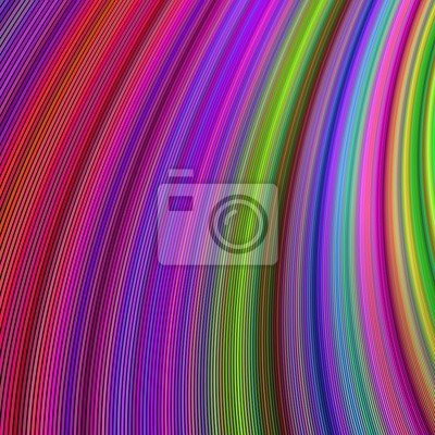 Mehrfarbiger gebogener Streifenentwurfshintergrund