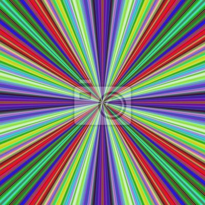 Mehrfarbiger Vektorstrahlstoß-Bewegungshintergrunddesign