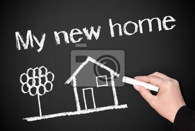 Bild: Mein neues zuhause! - immobilien-konzept