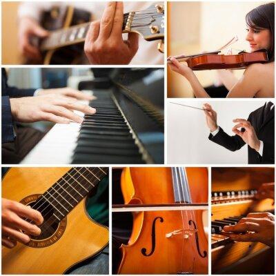 Bild Menschen spielen Musikinstrument