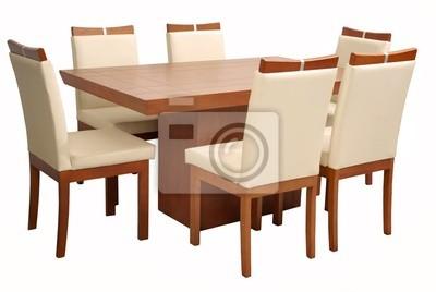 Mesa comedor minimalista leinwandbilder • bilder heute, Ausstattung ...