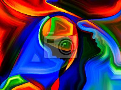 Metaphorische Heilige Farben