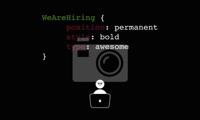 Bild Mieten Programmierer Entwickler Ein Coder Für Job Konzept