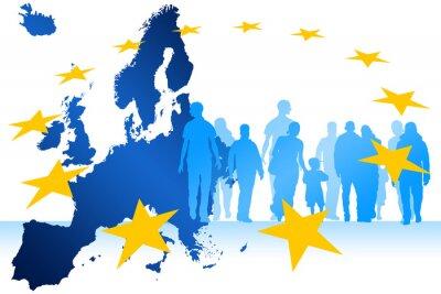 Bild Migrants Europe