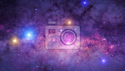 Bild Milky way Mosaik.