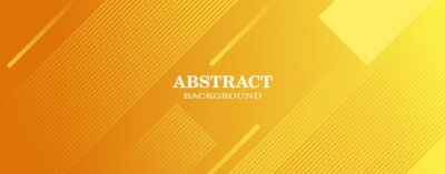 Bild minimal geometric yellow background, perfect for banners, website backgrounds, posters, etc.