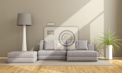 Minimalistisches Wohnzimmer Leinwandbilder Bilder