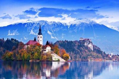 Mit See, Insel, Slowenien, Europa