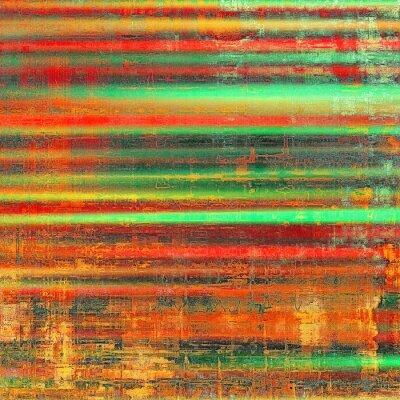 Bild Mit verschiedenen Farbmustern: gelb (beige); rot orange); Grün; schwarz