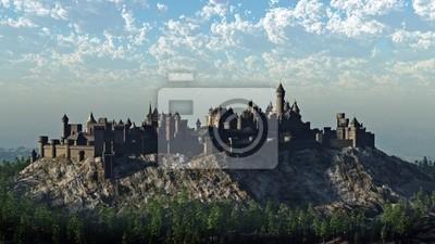 Mittelalterliche Hilltop Schloss