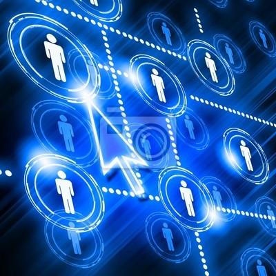 Modell des sozialen Netzwerks