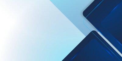 Bild Modern dark blue squares design background. Suit for business corporate presentation background and futuristic technology concept