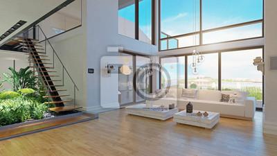 Bild modern house interior design.